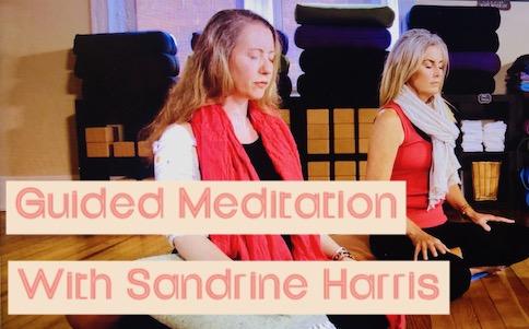 Guided Meditation with Sandrine Harris