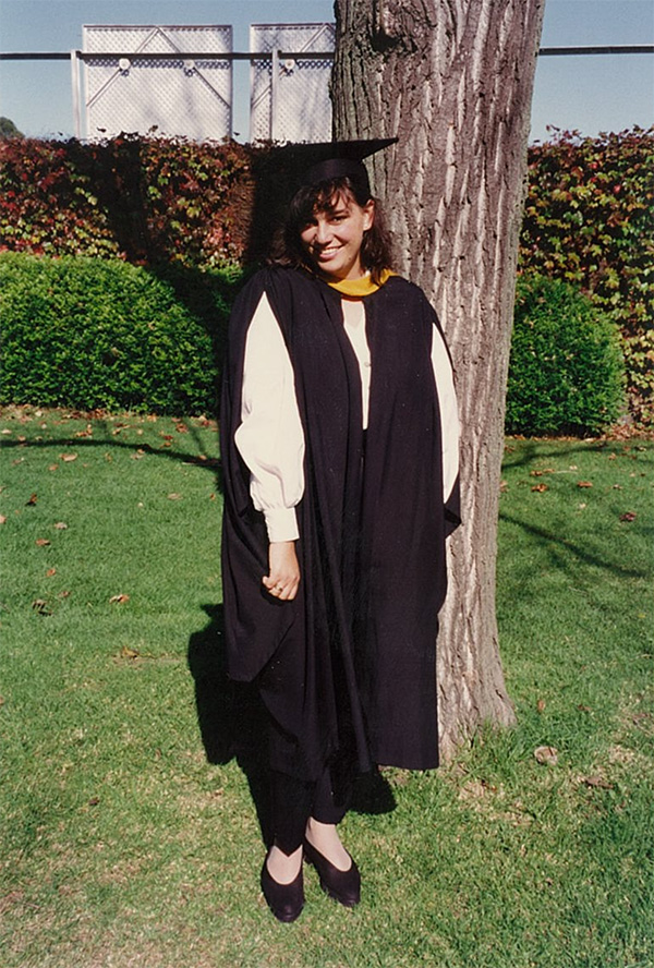 Sonja Stewart graduation pic
