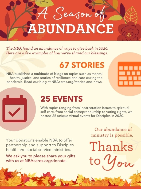 A Season of Abundance infographic