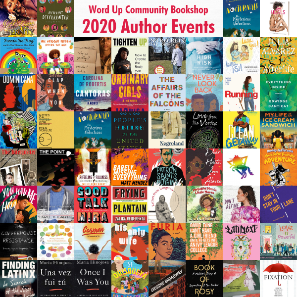 Word Up 2020 Author Events