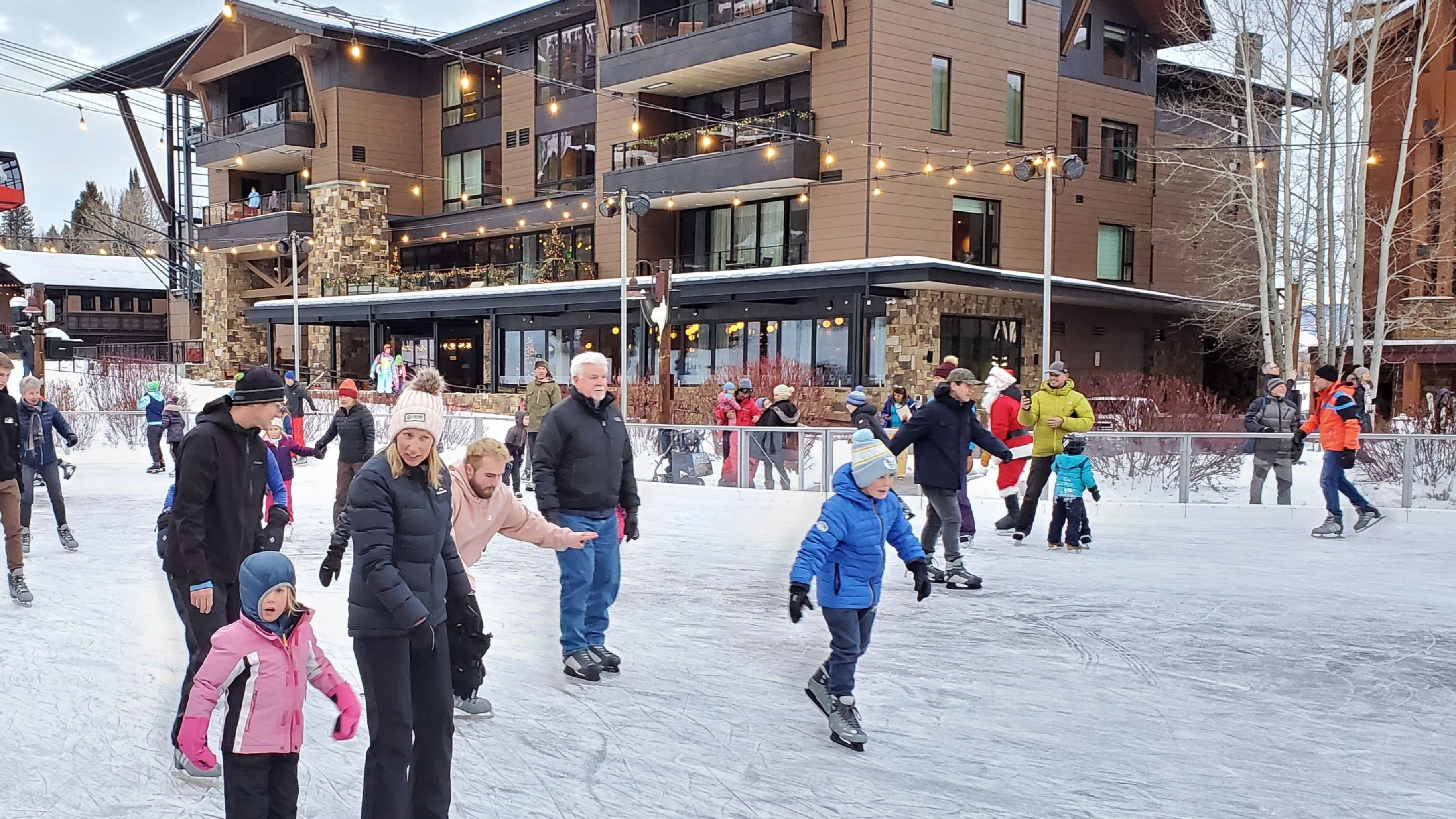 Jackson Hole Winter Wonderland Ice Rinks