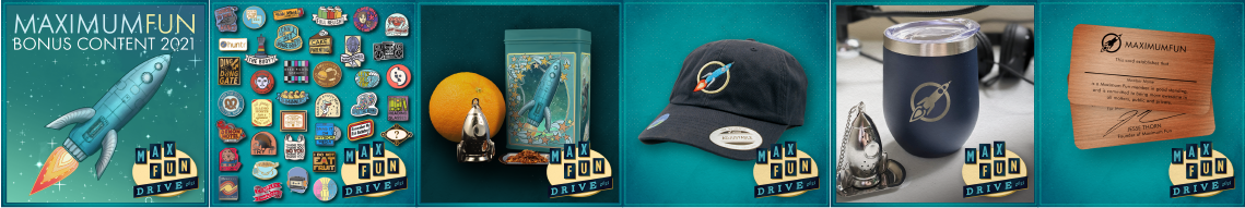 The MaxFunDrive gifts
