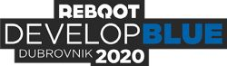 Reboot Develop Blue Logo