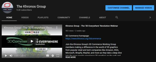 Khronos YouTube Graphic
