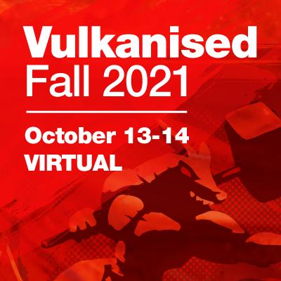 Vulkanised 2021 Logo