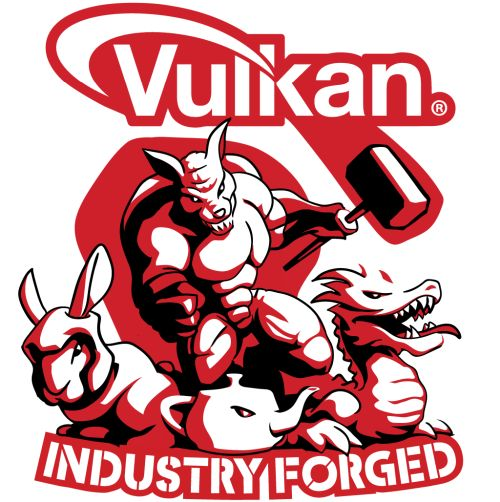 Vulkan Industry Forged Logo
