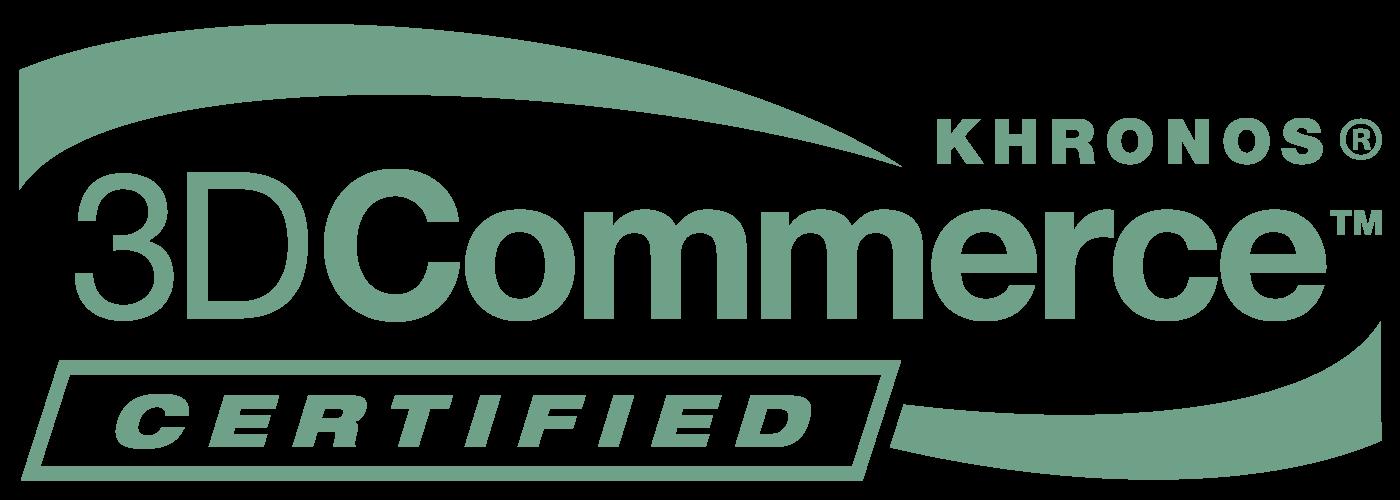 3D Commerce Certified Logo