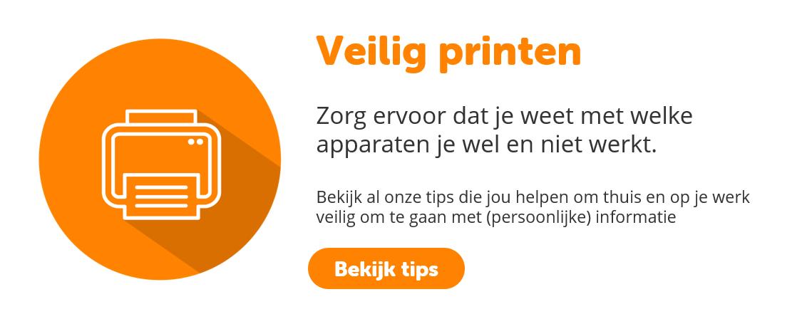 Veilig printen   BeveiligMij.nl