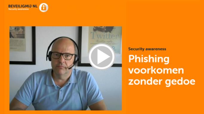 Phishing voorkomen zonder gedoe | BeveiligMij.nl