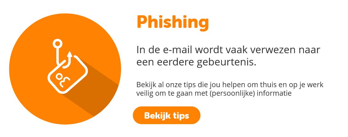 Phishing | BeveiligMij.nl