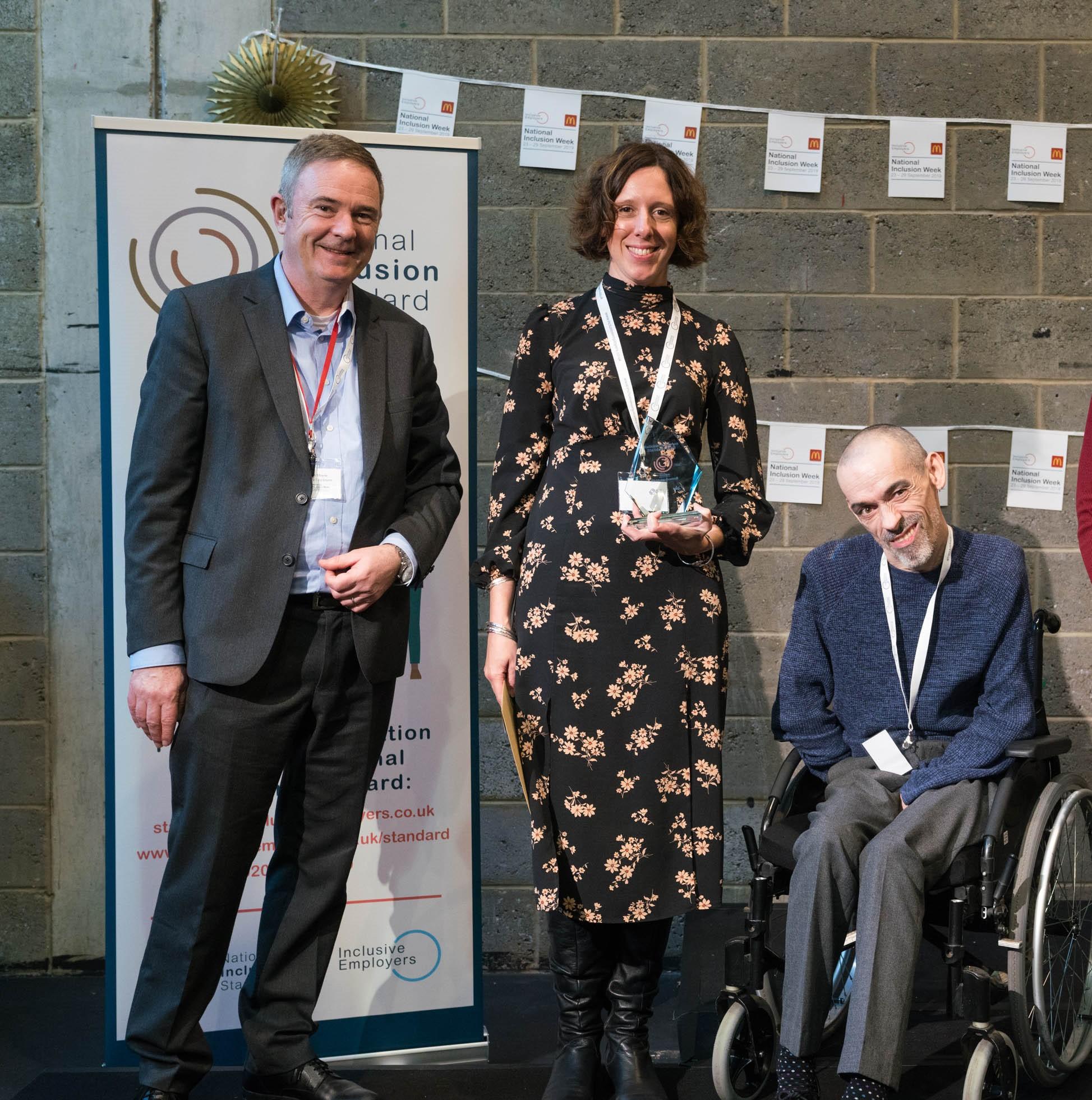 Kirklees council receiving IES award