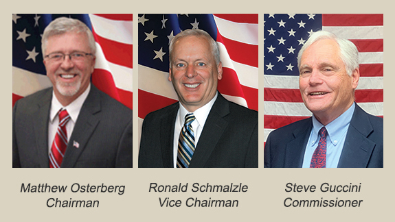 Photo of the Pike County Commissioners
