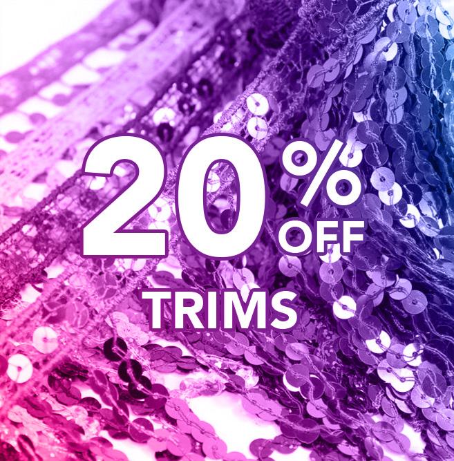 20% off Trims