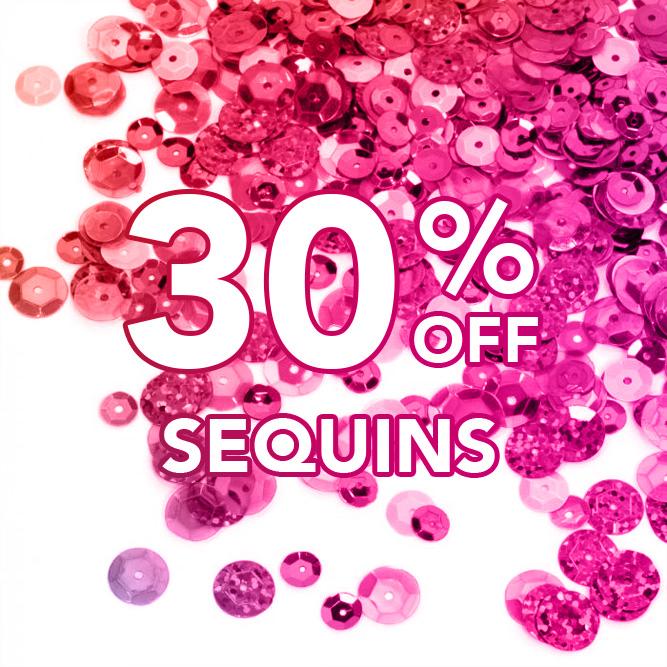 30% Off Sequins