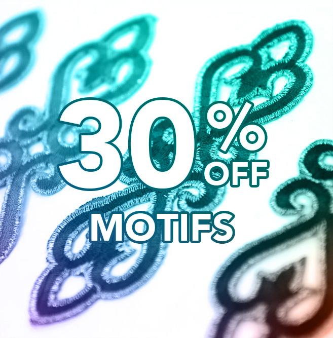 30% off Motifs