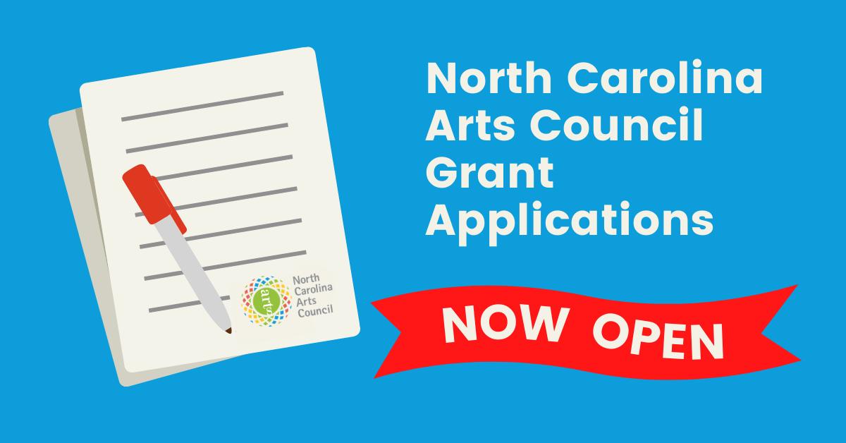 North Carolina Arts Council Applications Now Open