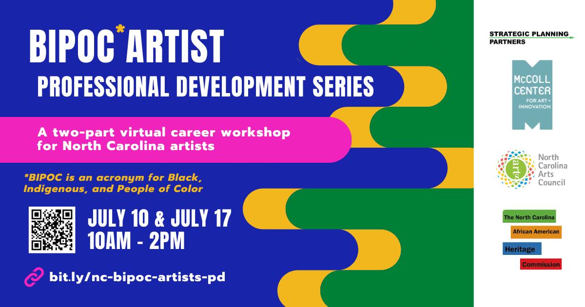 BIPOC Artist Professional Development Series