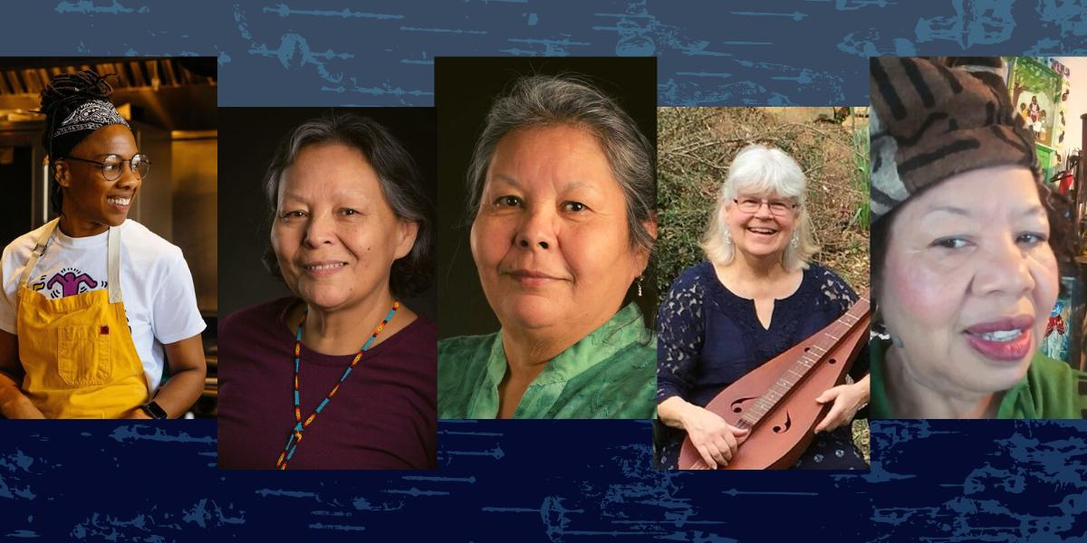 5 Appalachian woman NC folk artists