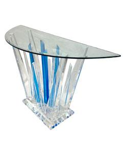 Blue Rock Table