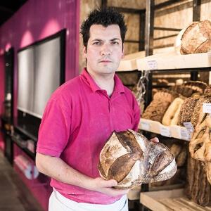 Espace de vente en boulangerie