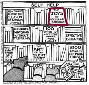 Self Help book for Dogs
