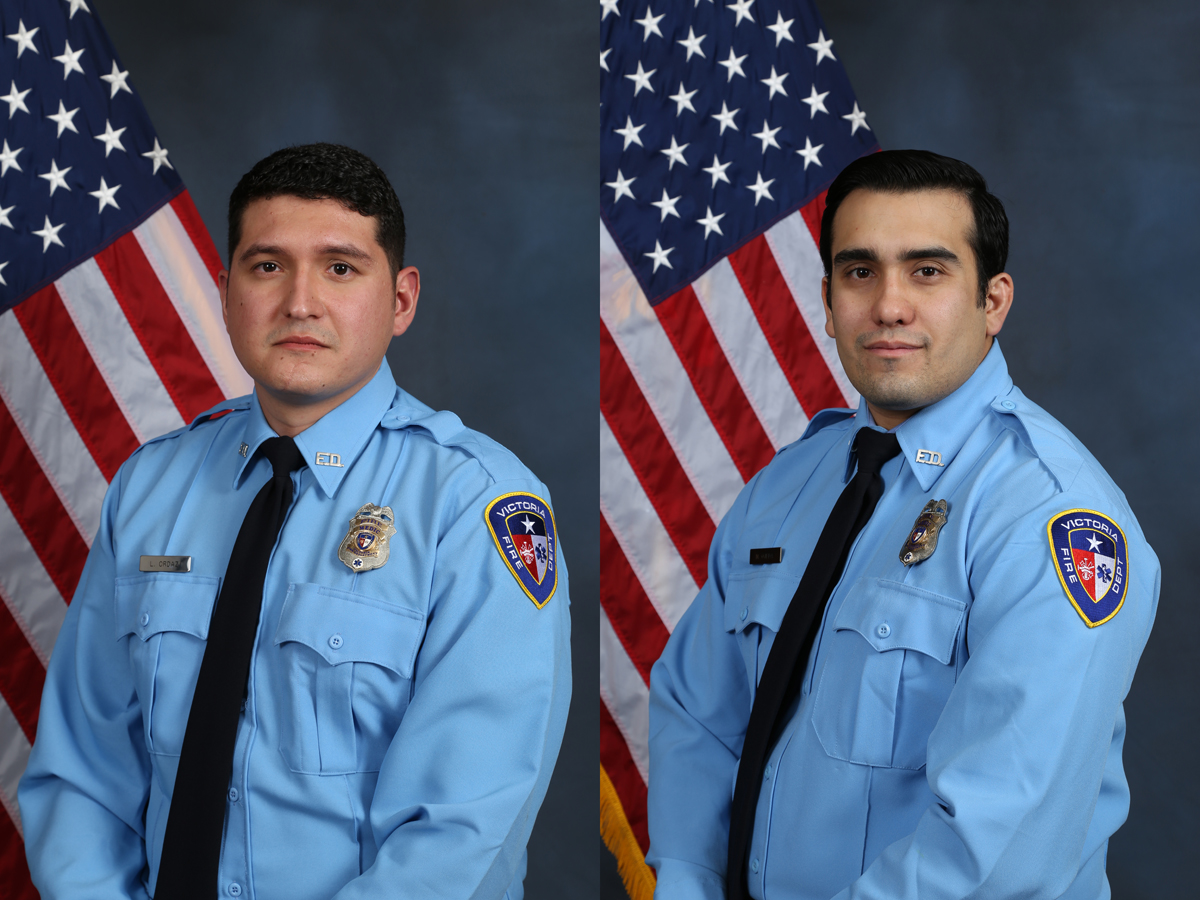 Two firefighters