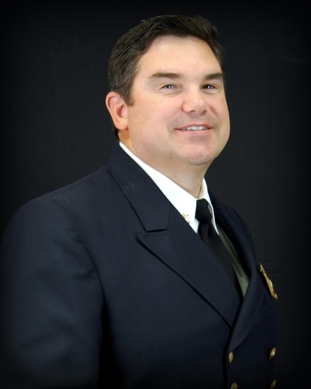 Portrait of Fire Chief Tracy Fox