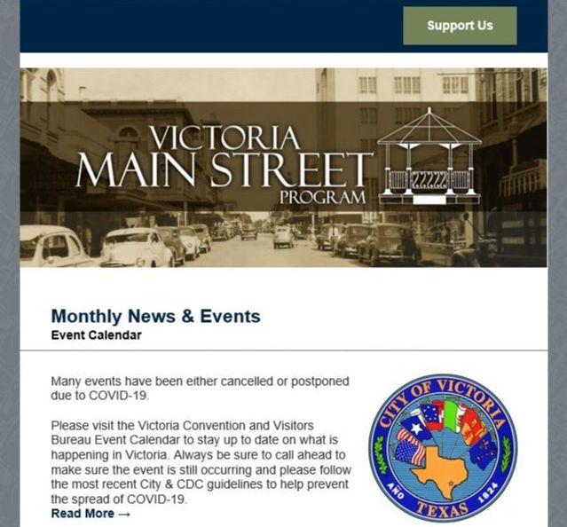 Main Street Program newsletter