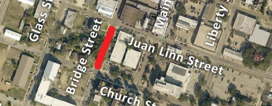 One block of Bridge Street to close between Juan Linn and Church streets