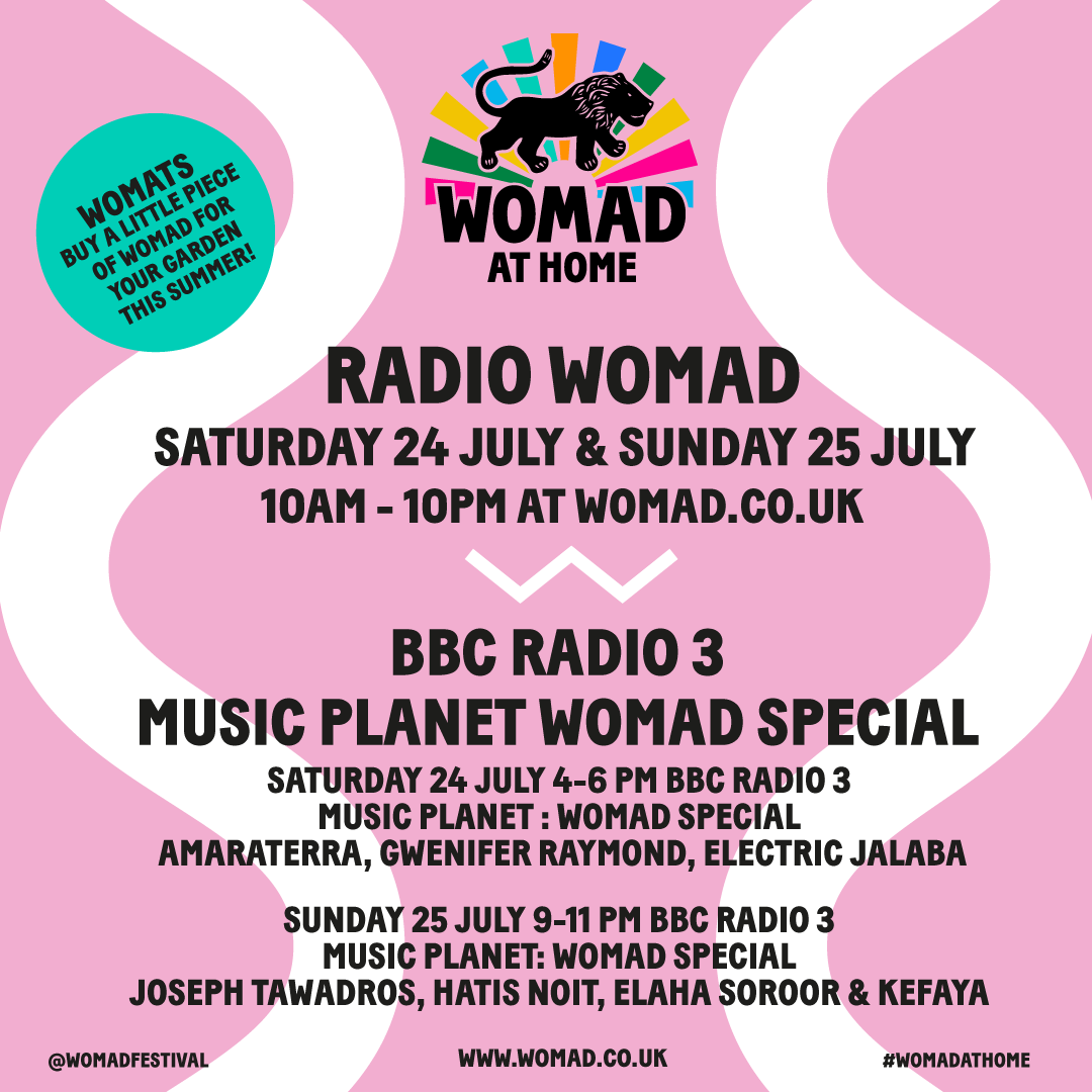 WOMAD: Listen live this weekend! 2