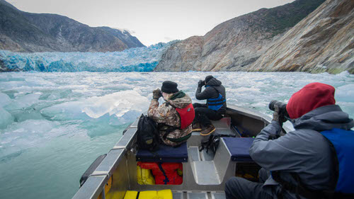 Photo workshop in Tracy Arm Alaska