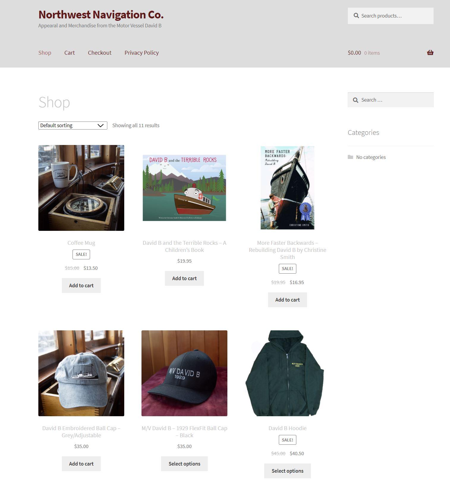 David B Merchandise