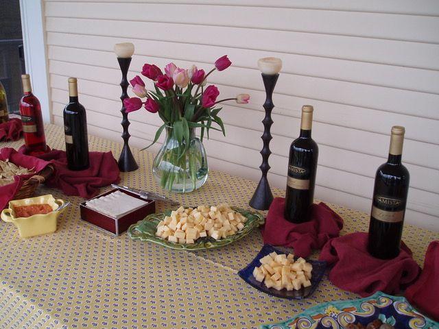 Amista Vineyards - Food pairing by Lisa