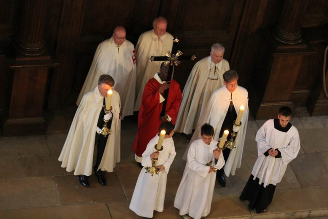 Vendredi Saint - entrée en procession