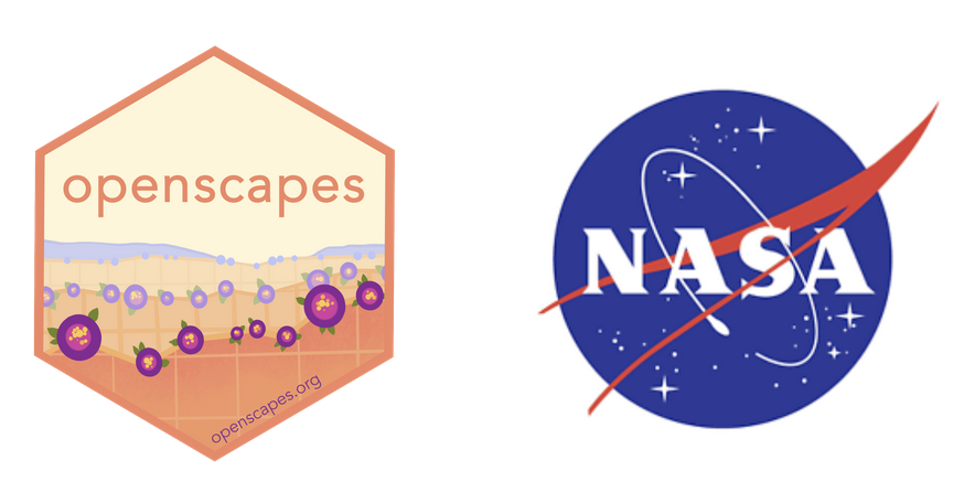 Thrilled to announce:  @openscapes  has been awarded a 3-year grant from  @NASA ! 🚀🌍   Together w  @nceas , #metadatagamechangers,  @uwescience ,  @2i2c_org ,  @thecarpentries  we'll support  @NASAEarthData  researchers migrating workflows to the cloud. #OpenScience http://openscapes.org/blog/2021/03/10/nasa-announcement