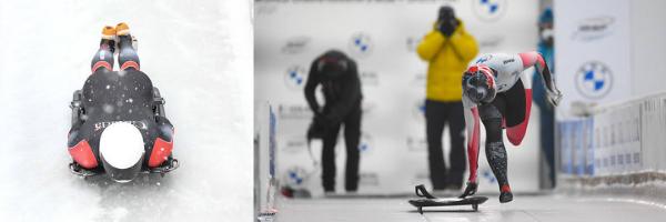 Men and Women's Skeleton Race