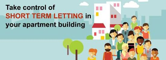 Take Control of Short Term Letting in your Apartment Building