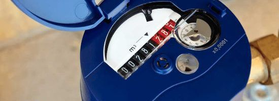 VIC Damage Separate Water Meter