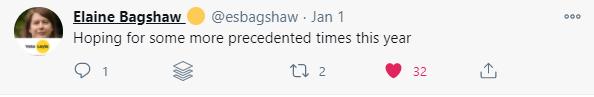 Elaine Bagshaw tweet