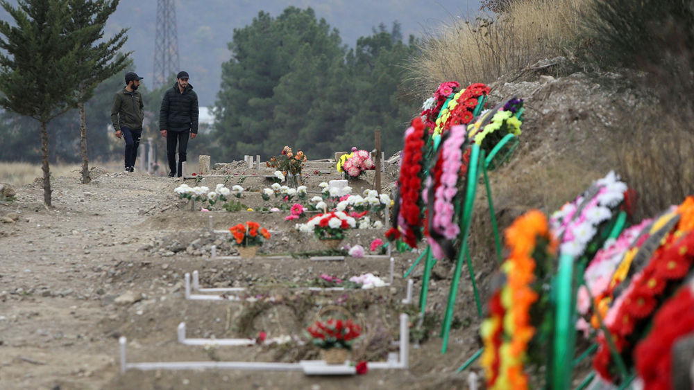 Graveyards in Nagorno-Karabakh