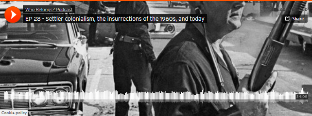 Soundbar preview image shows cops holding rifles in 1965 in Watts