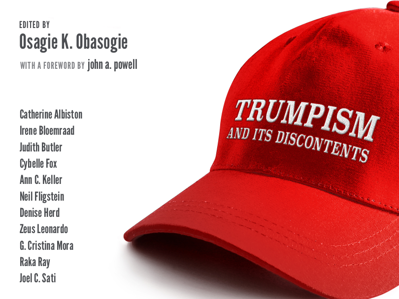 """Image shows a red MAGA-type hat except it says """"Trumpism and its discontents"""""""