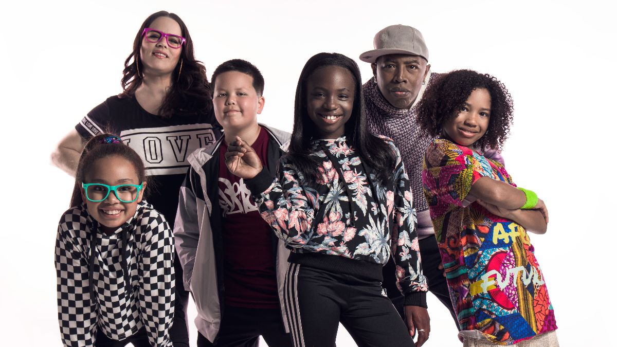 Portrait of the Alphabet Rockers, chosen as the 2020-2021 artist in residence