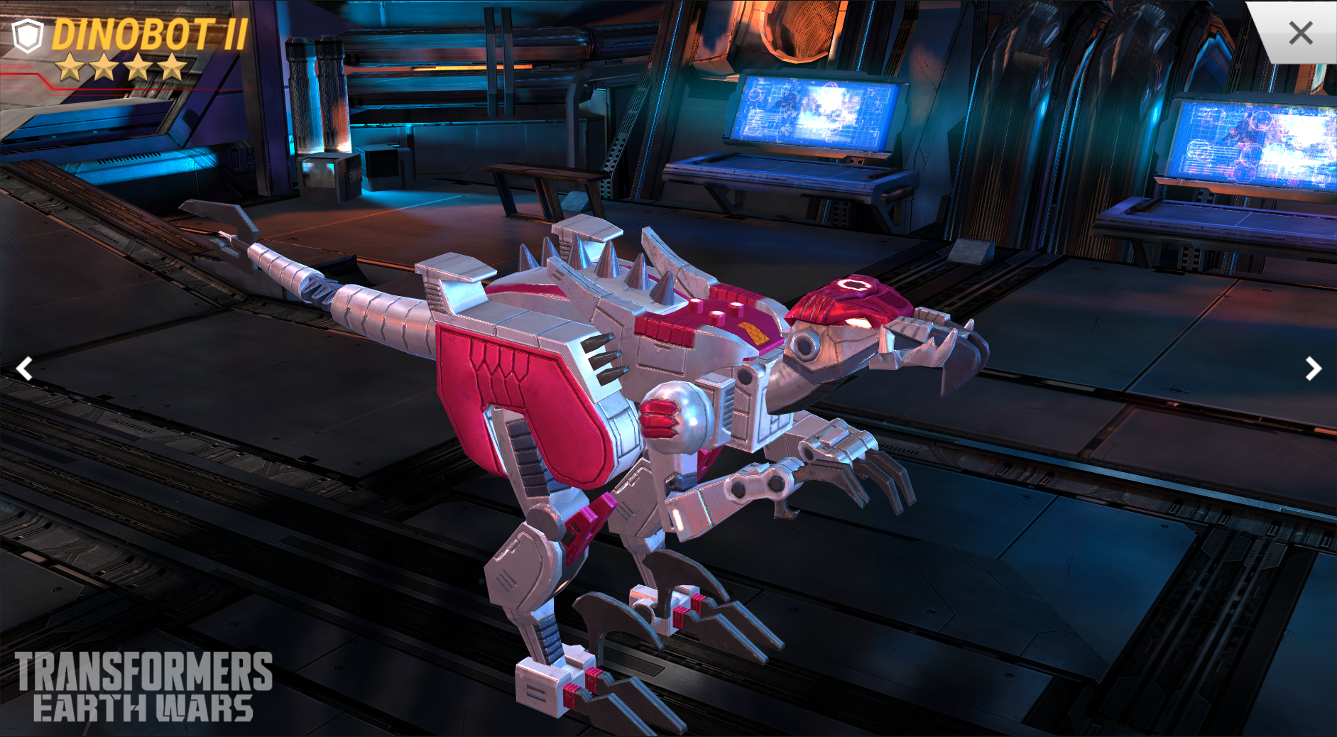 Transformers News: Transformers Earth Wars Event Primeval Spark with Looks during Dinobot and Dinobot II
