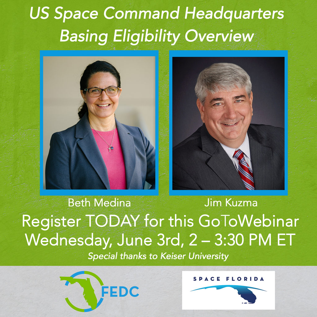 Graphic for Space Florida Webinar