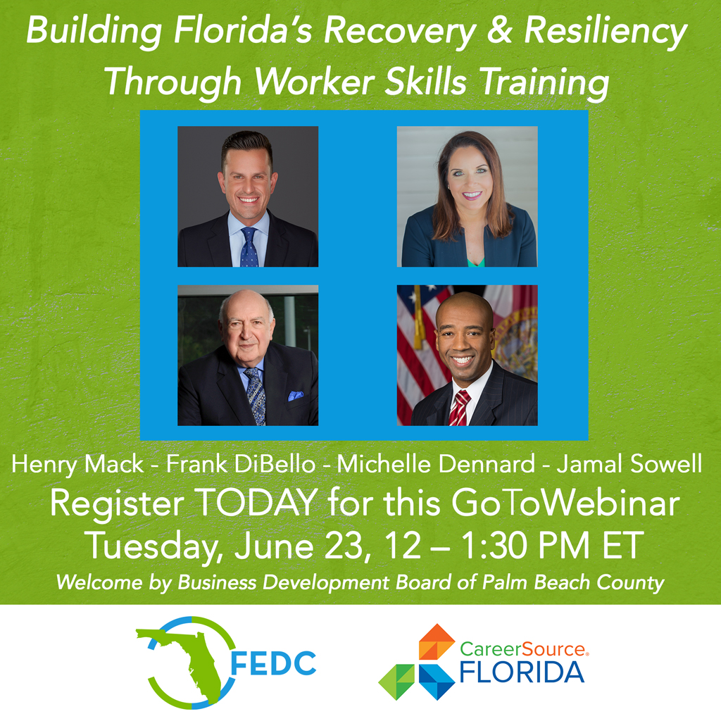 CareerSource FL webinar graphic