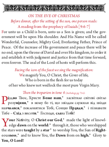 Holy Supper Christmas Eve pdf