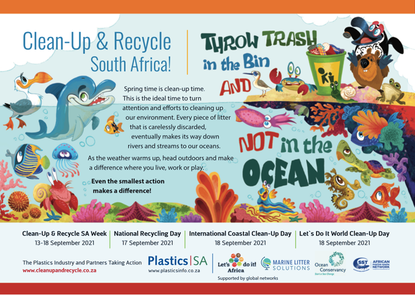 Get ready for Clean-up and Recycle Week 2021