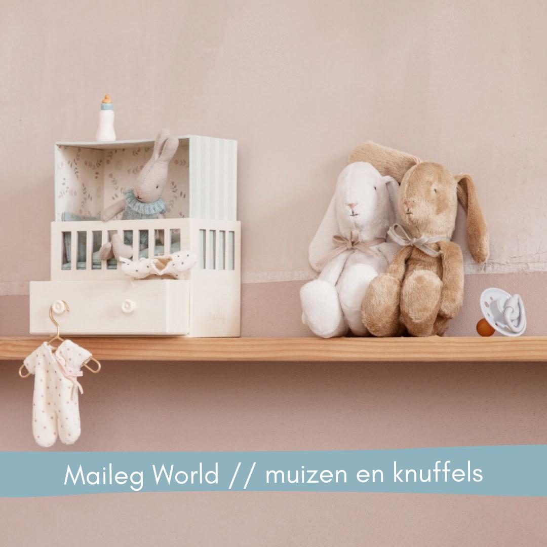 Maileg World muizen en knuffels // Labels for Little Ones