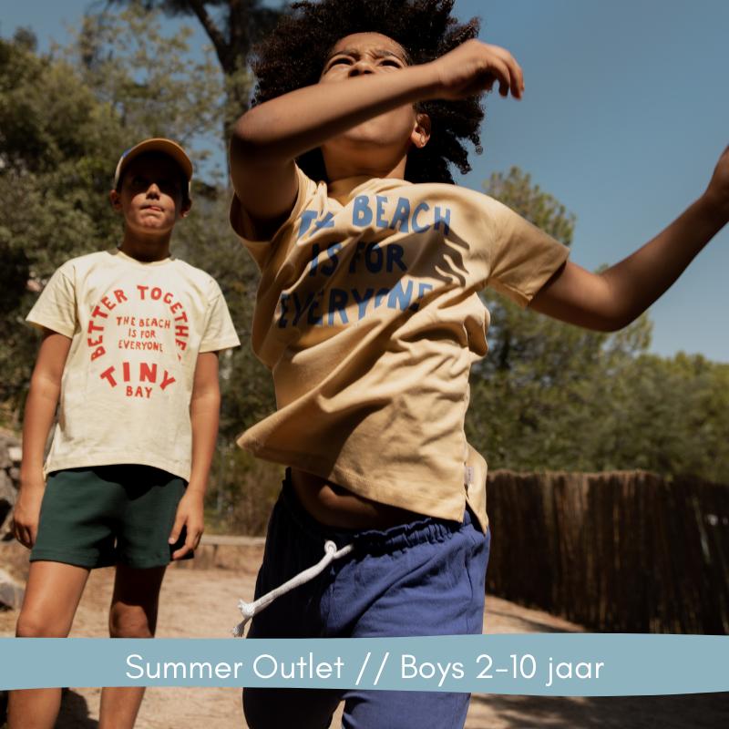 Summer Outlet // Boy 2-10 jaar // Labels for Little Ones